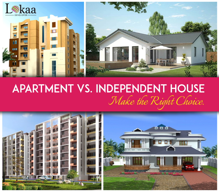 The Flat Apartments: Apartment Vs. Independent House