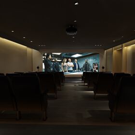 Mini Theatre Room