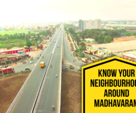 Neighbourhood Around Madhavaram